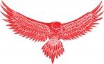 وکتور زیبای عقاب مناسب برش و حک